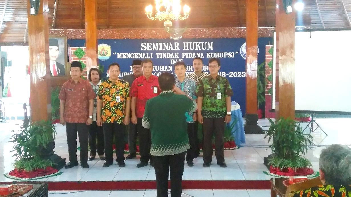 Pengukuhan LKBH KORPRI Kabupaten Grobogan