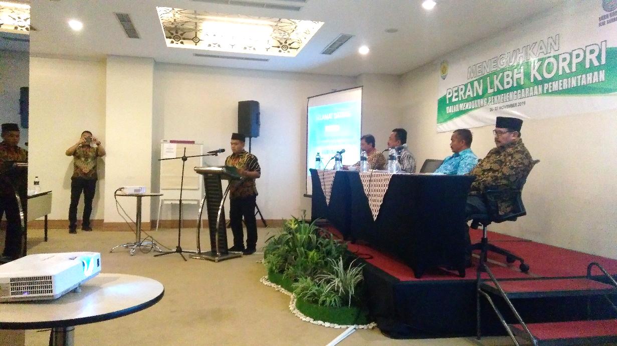 Sosialisasi LKBH KORPRI kepada Kepala SKPD se-Kabupaten Grobogan